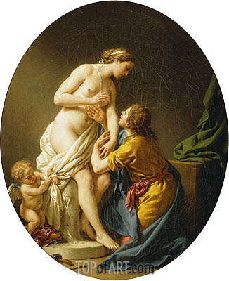 Pygmalion and Galatea, 1781 | Lagrenee | Painting Reproduction