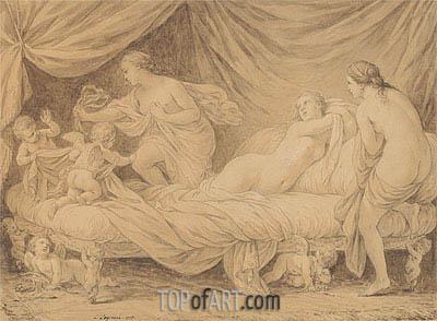 Lagrenee | Les Graces lutinees par les amours, 1778
