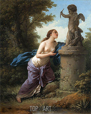 Offering for Cupid, 1775 | Lagrenee| Painting Reproduction