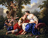 Rinaldo and Armida | Louis-Jean-Francois Lagrenee
