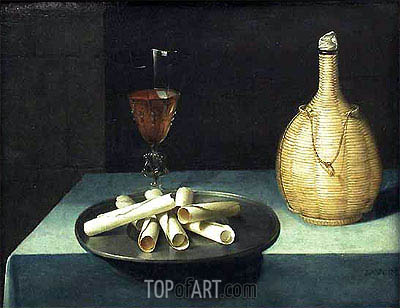 Lubin Baugin | The Dessert of Wafers, c.1630/35