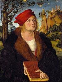 Porträt des Dr. Johannes Cuspinian, c.1502/03 von Lucas Cranach | Gemälde-Reproduktion