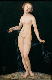 Lucretia, 1532 von Lucas Cranach | Gemälde-Reproduktion