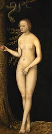 Eve, 1537 by Lucas Cranach | Painting Reproduction