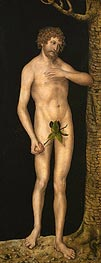 Adam, 1537 by Lucas Cranach | Painting Reproduction