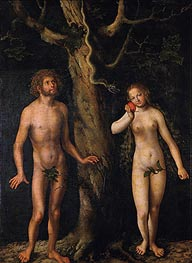 Adam and Eve | Lucas Cranach | outdated