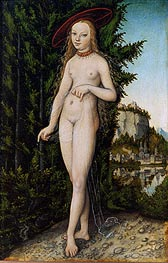 Venus in a Landscape, 1529 by Lucas Cranach | Painting Reproduction