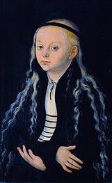 Magdalena Luther, c.1540 von Lucas Cranach   Gemälde-Reproduktion