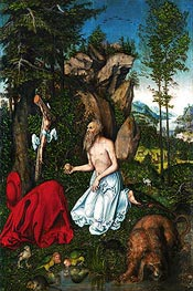 St. Jerome in the Desert | Lucas Cranach | veraltet
