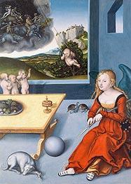 Melancholy | Lucas Cranach | Gemälde Reproduktion