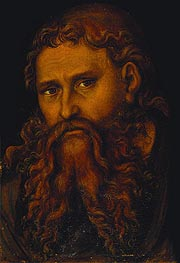 Christ, undated by Lucas Cranach | Painting Reproduction