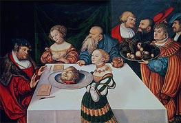 The Feast of Herod, 1531 by Lucas Cranach | Painting Reproduction