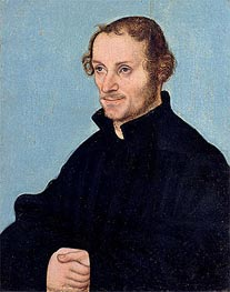 Philipp Melanchthon, undated by Lucas Cranach | Painting Reproduction