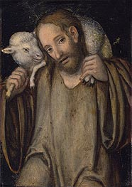 The Good Shepherd, undated by Lucas Cranach | Painting Reproduction