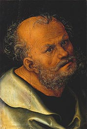 St. Peter, undated by Lucas Cranach | Painting Reproduction