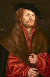 Portrait of Moritz Buchner | Lucas Cranach | veraltet