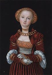 Portrait of a Woman | Lucas Cranach | Gemälde Reproduktion