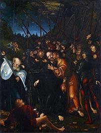 Christ's Arrest | Lucas Cranach | Painting Reproduction