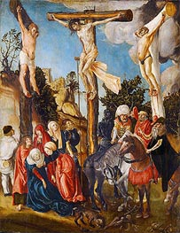 The Crucifixion of Christ | Lucas Cranach | Painting Reproduction
