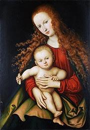 The Virgin and Child | Lucas Cranach | veraltet