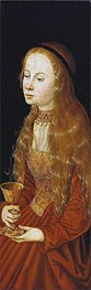 St Barbara, undated by Lucas Cranach | Painting Reproduction