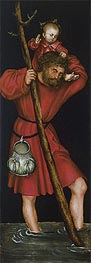 Saint Christopher, c.1514 by Lucas Cranach | Painting Reproduction