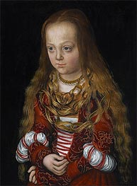 A Princess of Saxony, c.1517 by Lucas Cranach | Painting Reproduction