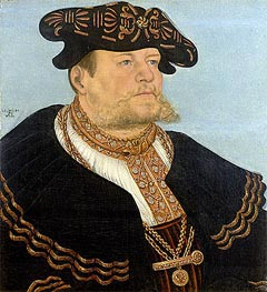 Portrait of the Chancellor Gregor Bruck, 1533 by Lucas Cranach | Painting Reproduction