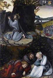 Agony in the Garden   Lucas Cranach   Gemälde Reproduktion