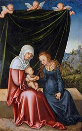 The Virgin and Child with St Anne | Lucas Cranach | veraltet