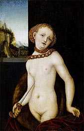 Lucretia, 1530 by Lucas Cranach | Painting Reproduction