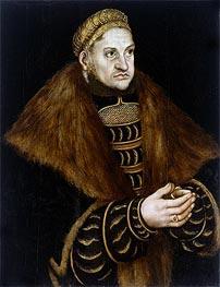 Friedrich III the Wise, Elector of Saxony | Lucas Cranach | Gemälde Reproduktion