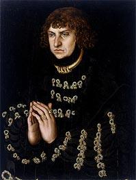Johann the Steadfast, Elector of Saxony | Lucas Cranach | Gemälde Reproduktion