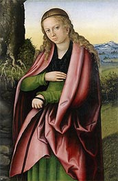 St Margaret | Lucas Cranach | Gemälde Reproduktion