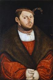 Prince-Elector Johann Friedrich of Saxony | Lucas Cranach | Gemälde Reproduktion