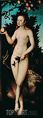 Lucas Cranach | Eve, 1533