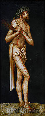 Christ of Sorrow, c.1510/20 | Lucas Cranach | Painting Reproduction
