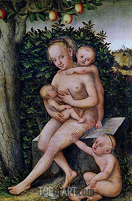 Lucas Cranach | Charity, undated