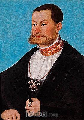 Joachim von Anhalt, c.1530 | Lucas Cranach | Painting Reproduction