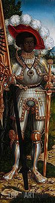 Lucas Cranach | Saint Maurice, c.1522/25