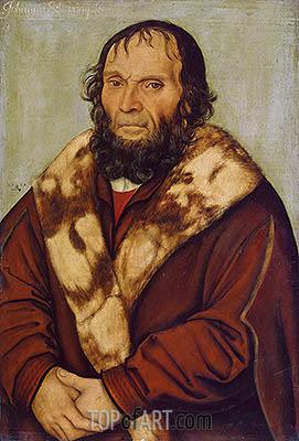 Lucas Cranach | Portrait of Magdeburg Theologians Dr. Johannes Schöner, 1529
