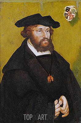 Lucas Cranach | Portrait of King Christian II of Denmark, 1523