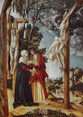 Crucifixion, 1503 | Lucas Cranach | Painting Reproduction