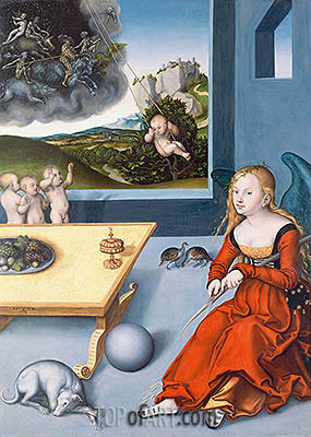 Melancholy, 1532 | Lucas Cranach | Painting Reproduction