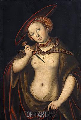 Lucas Cranach | Lucretia, undated