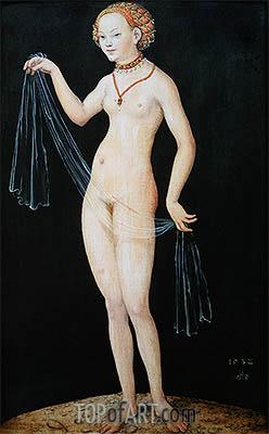 Venus, 1532 | Lucas Cranach | Gemälde Reproduktion