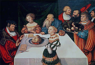 Lucas Cranach | The Feast of Herod, 1531