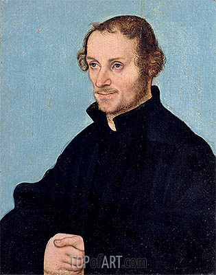 Philipp Melanchthon, undated | Lucas Cranach | Painting Reproduction