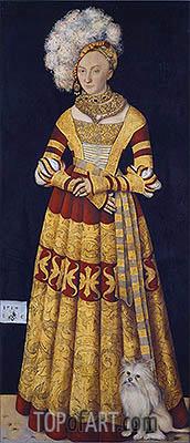Lucas Cranach | Duchess Katharina of Mecklenburg, 1514