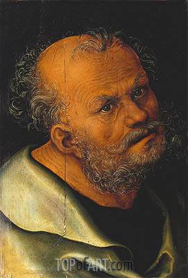 St. Peter, undated | Lucas Cranach | Painting Reproduction